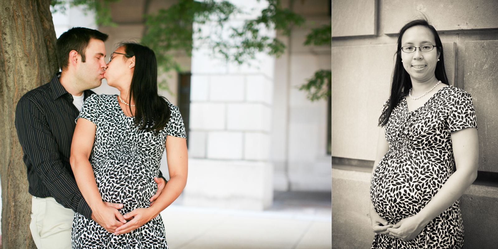 Jen & Travis | Maternity | DC