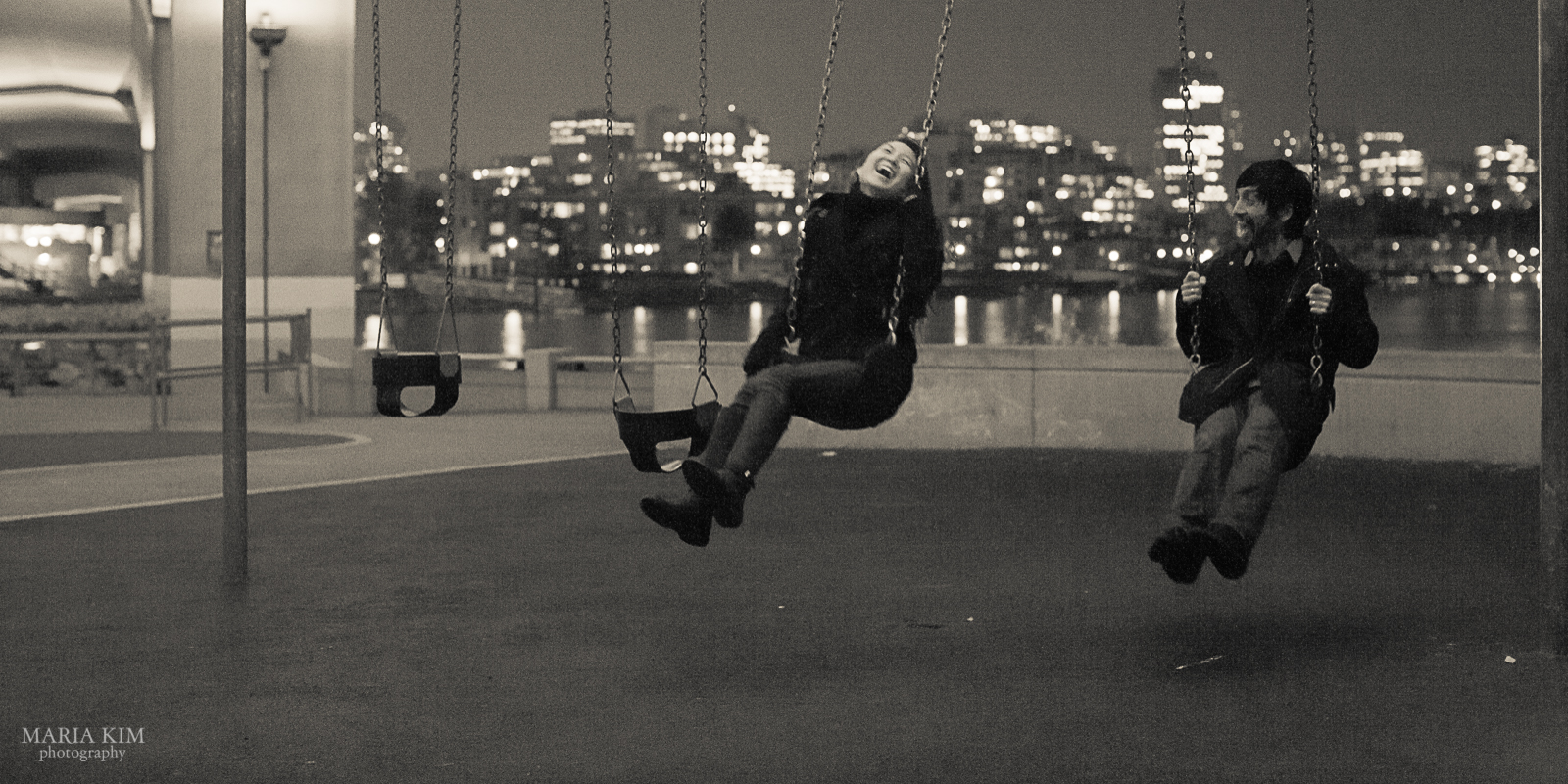 Maria Kim | Portrait Date | Cambie Bridge Vancouver BC